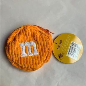 "3.5"" orange 🍊 M&M's World coin purse 👛 new 2019"